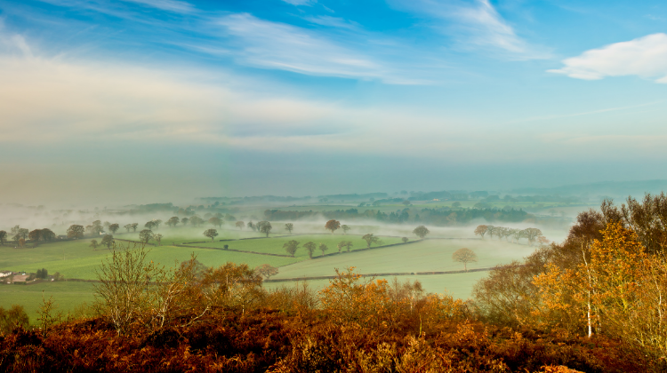 The Shropshire Hills, good for short breaks UK
