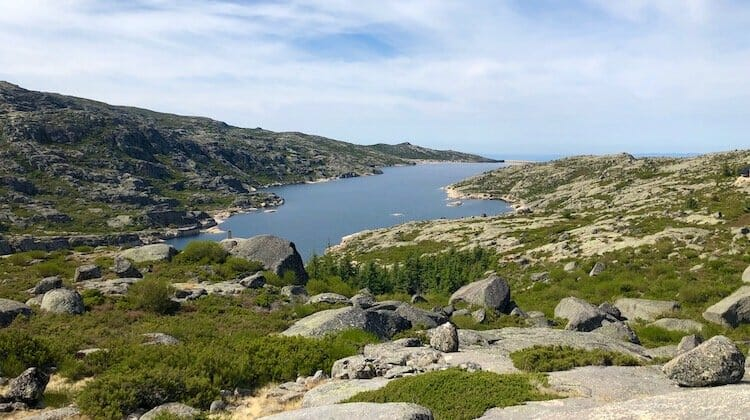Lagoa Comprida, one of the most beautiful Portugal lakes