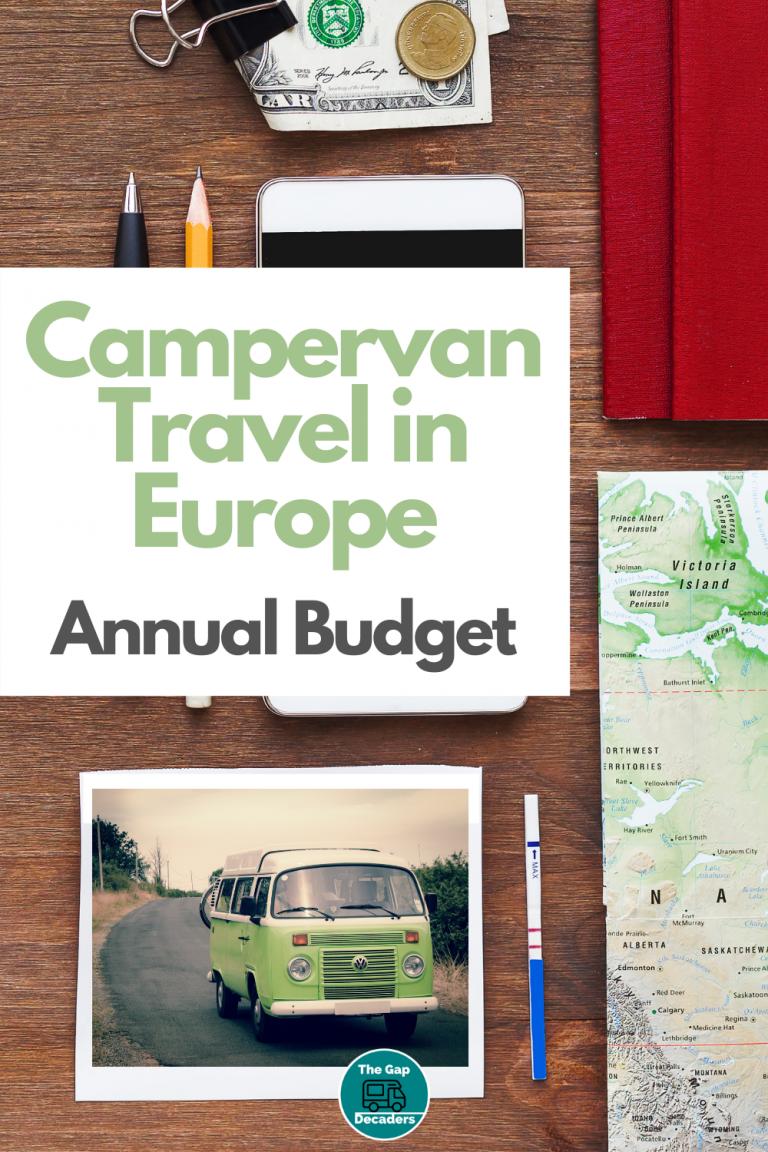 travelling Europe in a van budget
