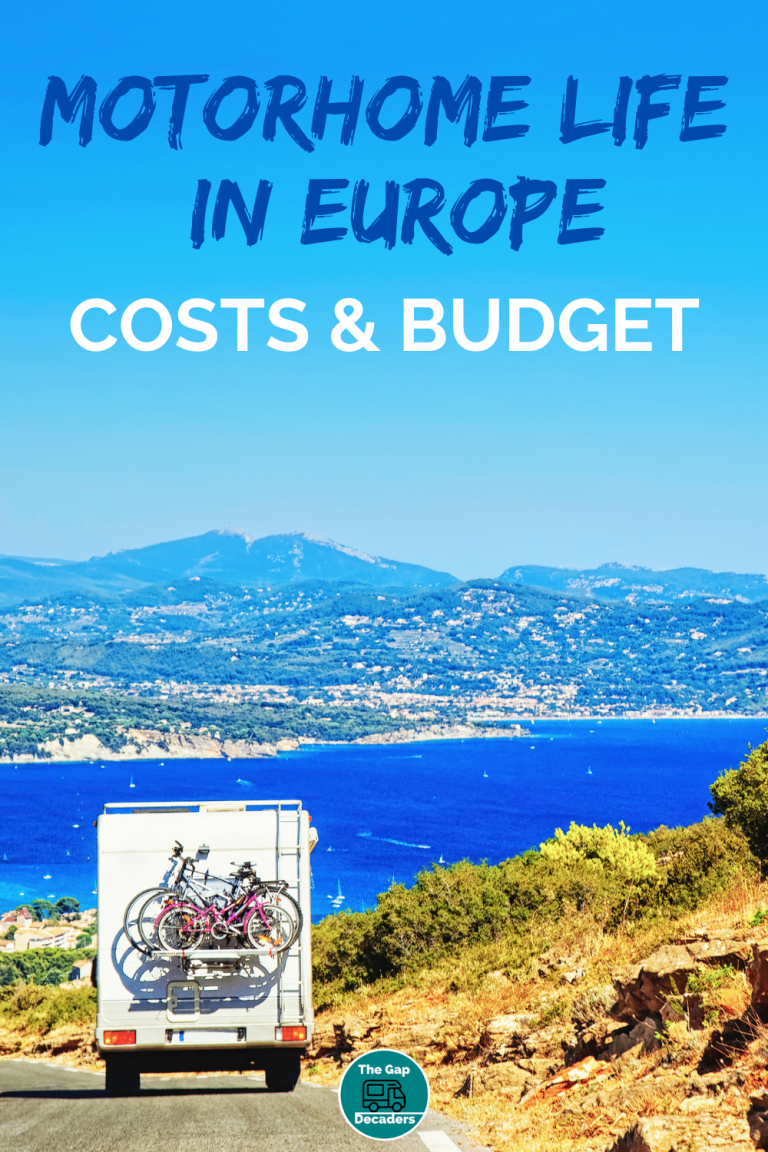 cost to travel Europe in campervan