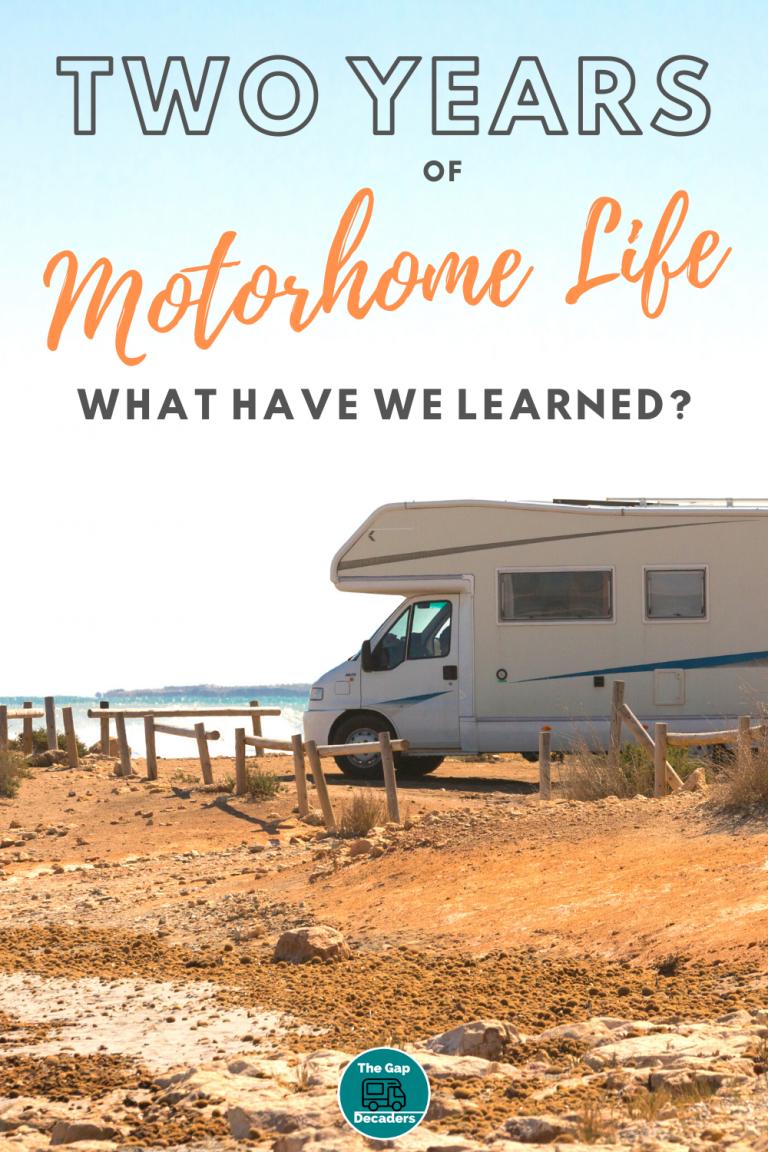full time motorhome living