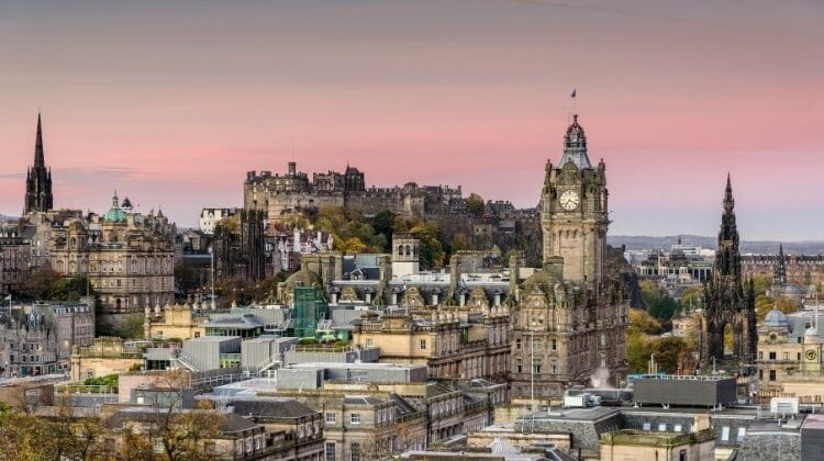 Edinburgh, a great place to stop as you travel Scotland