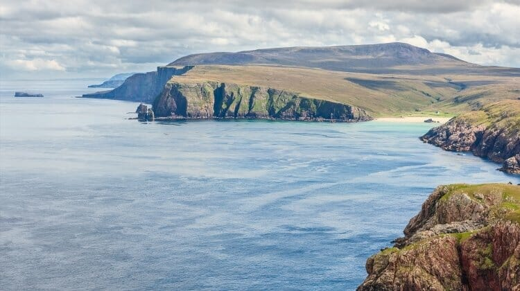 Kearvaig Bay on the North Coast 500 Scotland