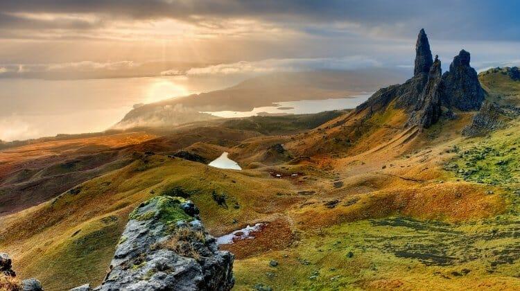 Isle of Skye, a wonderful driving tour of Scotland