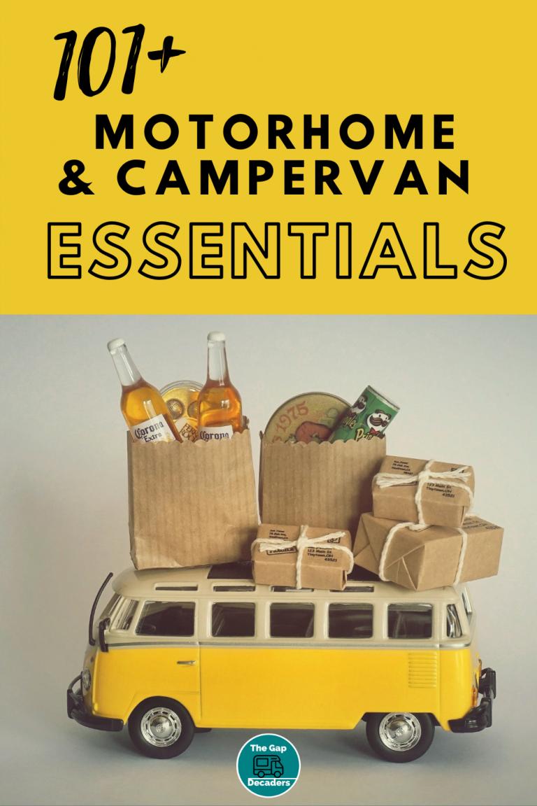 campervan essentials uk