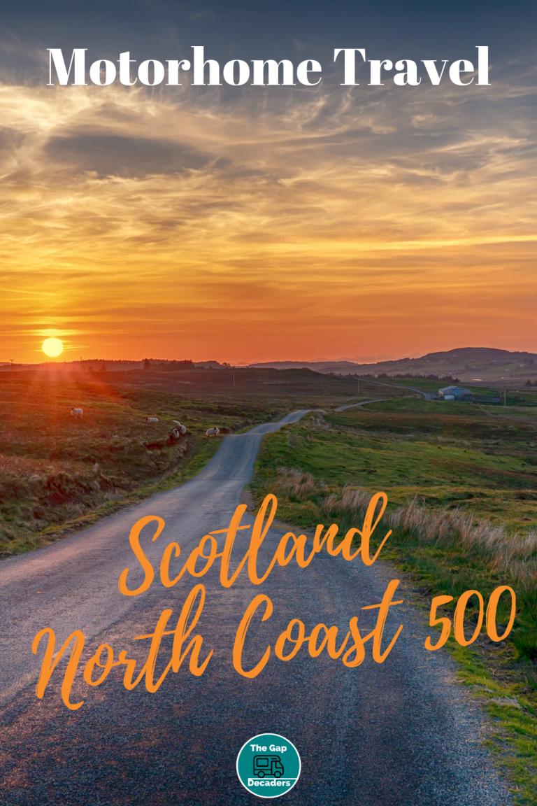 Scottish campers North Coast 500 tour