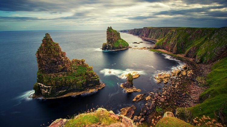 sea stacks Scotland