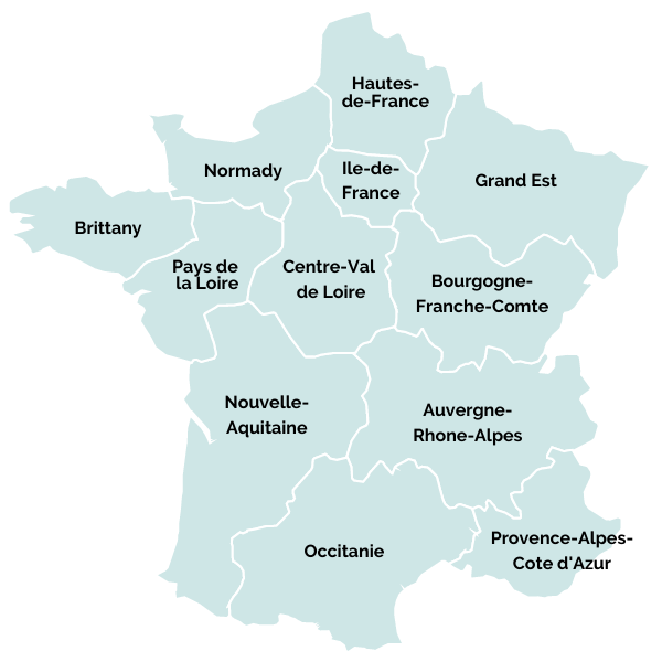 best driving routes through France by region
