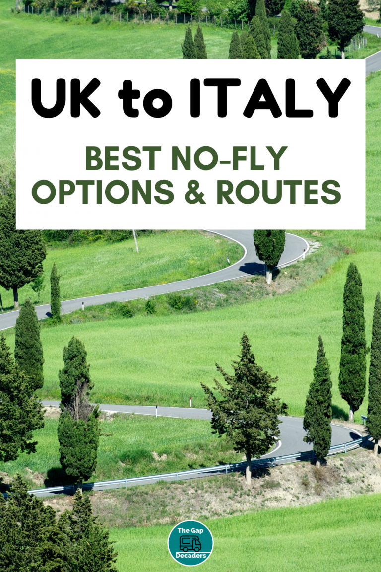 routes to travel from UK to Italy by car