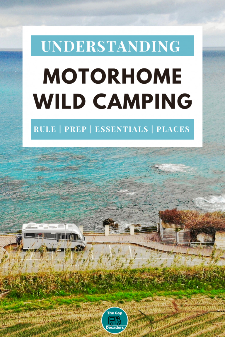 wild camping for motorhome