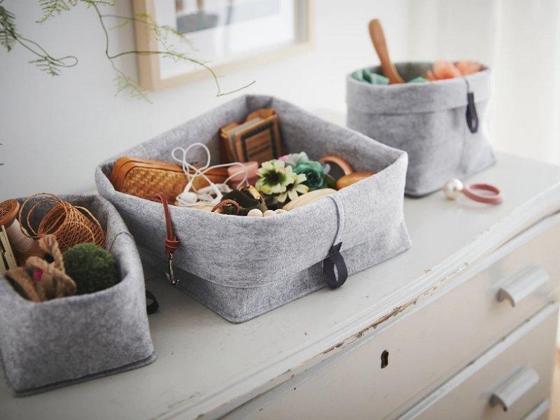 handy storage baskets