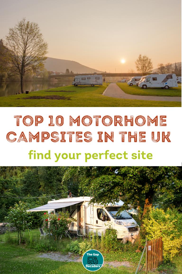 caravan and motorhome sites uk