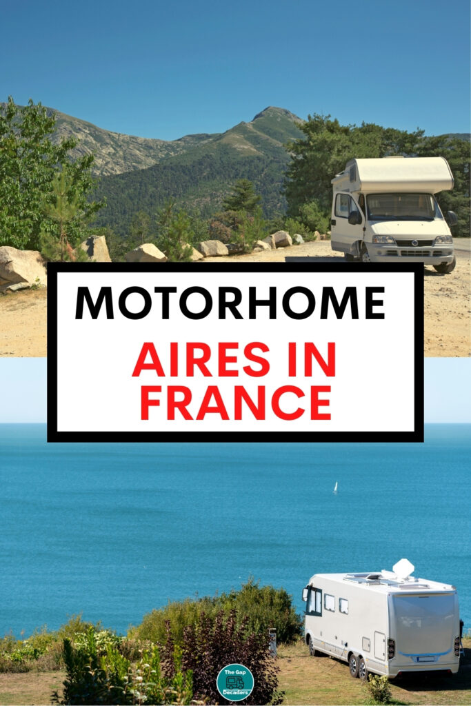 aires for motorhomes in France